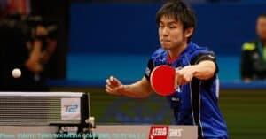 Chop block in table tennis