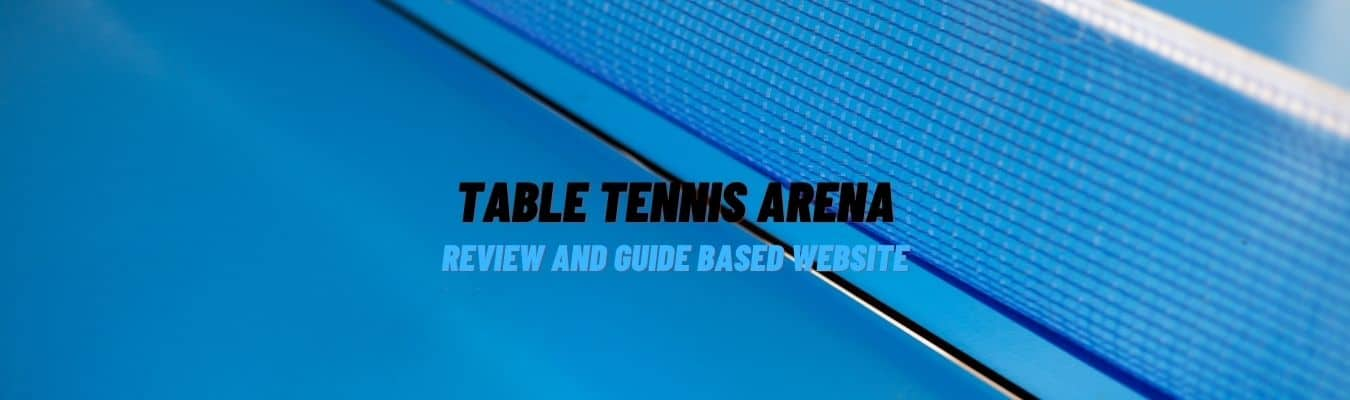 Table Tennis Arena, a guide and review based website on table tennis