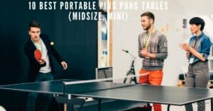 Best portable ping pong tables